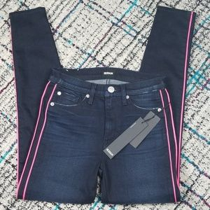 Brand new Hudson Rozz high rise skinny jeans